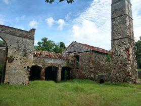 ruins of the Reef Bay Sugar Mill